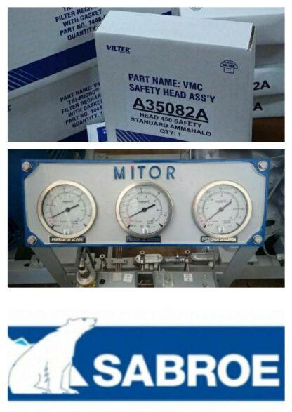 Suministro de repuestos originales para compresores Vilter y Sabroe. Refrigeración Industrial.
