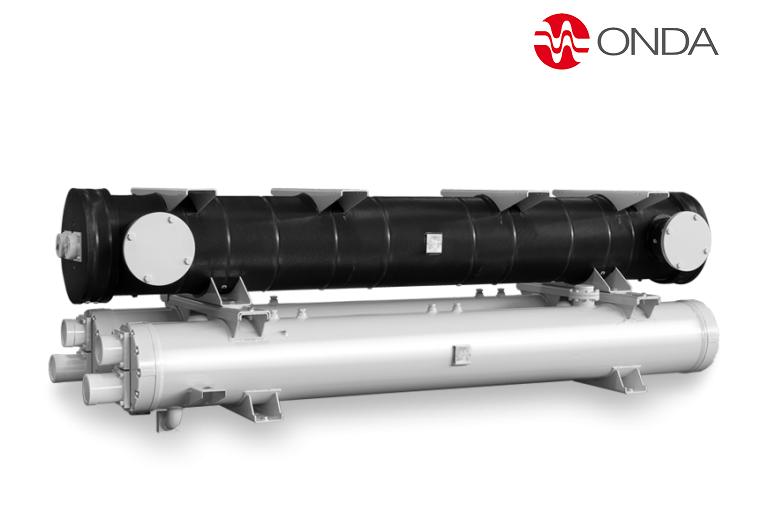 Condensadores y evaporadores de casco y tubos, para freón y amoníaco